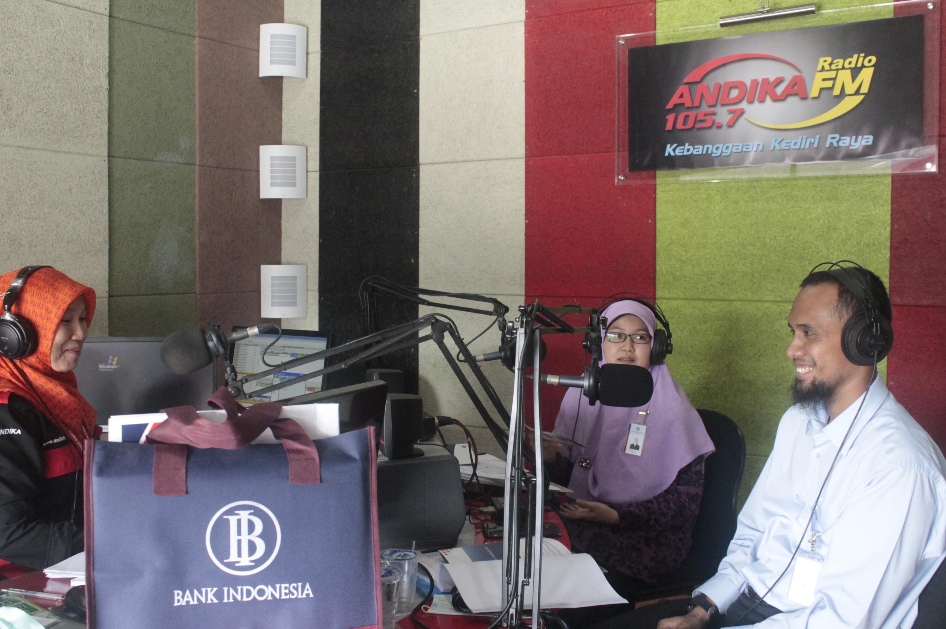 Talkshow Bank Indonesia Kediri