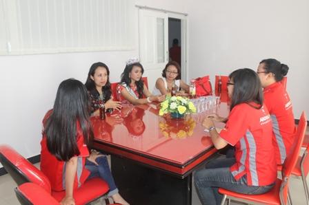Kunjungan Putri Indonesia