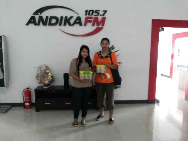 Pemenang Kuis Teangin di Radio ANDIKA FM