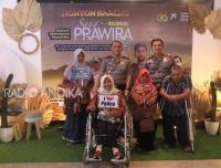 Peringati  HDI, Kapolresta Kediri Ajak Kaum Disabilitas NOBAR sang Prawira