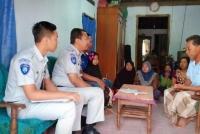Jasa Raharja Madiun Serahkan Santunan Korban Kecelakaan Bus Di Lampung
