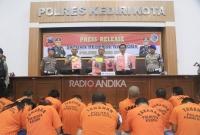 Polres Kediri Kota Ungkap Kasus Narkotika Selama Oktober 2019