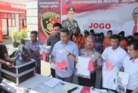 Polda Jatim Tangkap 17 Tersangka Selama Operasi Sikat Semeru 2019