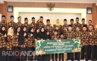 Wakil Walikota Berangkatkan Belasan Kafilah MTQ Tingkat Propinsi Jawa Timur