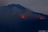 40 Personel Tahura Dikerahkan Untuk Padamkan Kebakaran Gunung Arjuno