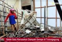 BNPB Pantau Dampak Gempa Bumi di Malang, Minta Masyarakat Waspada