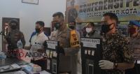 Delapan Orang Pengedar Narkoba Diamankan Polres Blitar Kota
