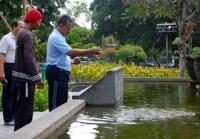 Alun Alun Tulungagung, Taman Kota Yang Unik Dan Menarik