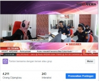 Bisnis Interaktif Radio ANDIKA bersama Bea Cukai Kediri
