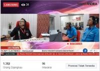 Bisnis Interaktif Radio ANDIKA bersama Biznet Kediri