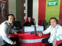 Bisnis Interaktif Radio ANDIKA bersama BPJS Ketenagakerjaan Kediri