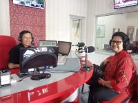 Bisnis Interaktif Radio ANDIKA bersama Ahli Terapi Totok Syaraf, Bu Mujiati