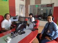Bisnis Interaktif Radio ANDIKA bersama RS HVA Toeloengredjo, Pare, Kediri.