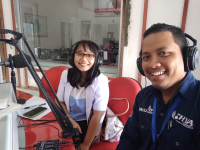 Publik Interaktif Radio ANDIKA bersama RS HVA Toeloengredjo, Pare, Kediri.