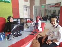 Publik Interaktif Radio ANDIKA bersama RS HVA Toeloengredjo Kediri.