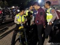 Ratusan Sepeda Motor Diamankan Saat Balap Liar di Sidoarjo