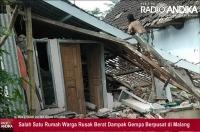 Satu Korban Meninggal di Lumajang Tertimpa Reruntuhan Batu Akibat Gempa Malang
