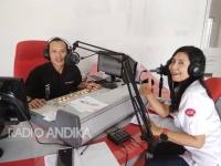 Bisnis Interaktif Radio ANDIKA bersama Telkom-IndiHome Kediri.