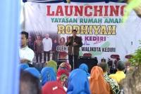 Walikota Kediri, Resmikan Rumah Aman, Bagi Korban Kekerasan