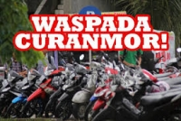 Pelaku Pencurian Sepeda Motor, Manfaatkan Polisi Yang Sedang Fokus Pengamanan Proses rekapitulasi