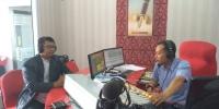 Bisnis Interaktif Radio ANDIKA bersama Griya Agarillus Kediri