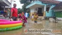 Puncak Banjir Luapan Bengawan Solo Diperkirakan Malam Nanti