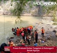 Korban Tenggelam di Dam Kedunggerit Nganjuk Ditemukan Meninggal