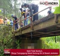 Sakit Tidak Sembuh, Warga Tulungagung Nekat Gantung Diri di Bawah Jembatan