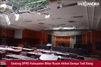 Gempa Akibatkan Puluhan Bangunan Rusak dan 9 Orang Luka-luka di Blitar