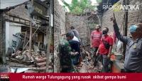 Dampak Gempa, Puluhan Rumah dan Tempat Ibadah di 12 Kecamatan Tulungagung Mengalami Kerusakan