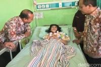 Gadis Mojokerto yang Tubuhnya Tulang Berbalut Kulit Derita Gizi Buruk