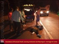 Kecelakaan Truk Dan Motor, Mahasiswi Asal Bojonegoro Meninggal Dunia