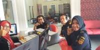 Public Interaktif Radio ANDIKA bersama Kantor Bea Cukai Kediri