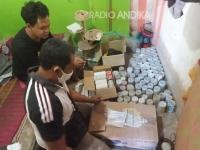 Ratusan Petasan Siap Ledak Diamankan Polres Tulungagung, 4 Tersangka Ditangkap