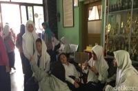 Puluhan Siswa SMP di Kota Mojokerto Mendadak Kesurupan