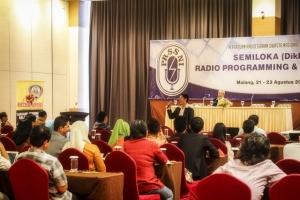 Semiloka Radio Programing & Marketing PRSSNI