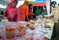 Pasar Ramadhan Jl.Hayam Wuruk Kediri