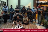 Modus Pencurian Rumah Ditinggal Tarawih, Dua Residivis di Tulungagung Dilumpuhkan Polisi