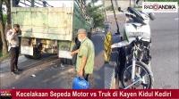 Tabrak Truk Parkir, Warga Kayen Kidul Kediri Meninggal